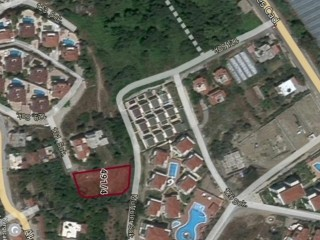 In kargıcak VILLA 922 M2 land zoned for the project ready, Alanya Antalya