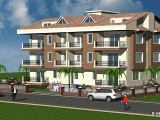 ALANYA CALM AND DECENT, WHOLE BUILDING + PROJECT 50% COMPLETE