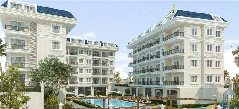 new-luxury-1-bedroom-residence-with-full-activities-in-oba-big-1