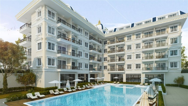new-luxury-1-bedroom-residence-with-full-activities-in-oba-big-0