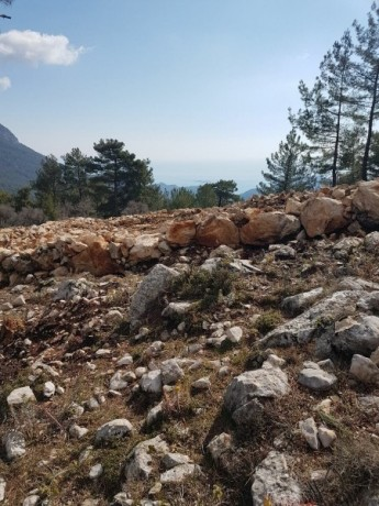 cheap-1000m2-cottage-house-land-for-sale-in-kemer-beycik-high-mediterranean-mountain-big-12