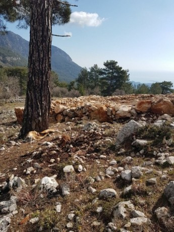 cheap-1000m2-cottage-house-land-for-sale-in-kemer-beycik-high-mediterranean-mountain-big-13