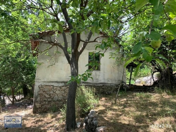 3045-m2-land-for-sale-in-kemer-beycik-mountain-village-old-house-big-1