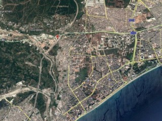 Suitable for construction in Antalya 9500 m2 plot