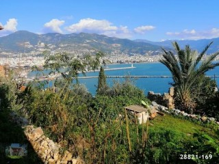 ALANYA RED CASTLE SUPER SEAVIEW TRADITIONAL HOUSE FOR SALE CHEAP