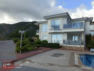 CHEAP BARGAIN LUXURY 3+1 VILLA FOR SALE SITE IN TEPE / ALANYA