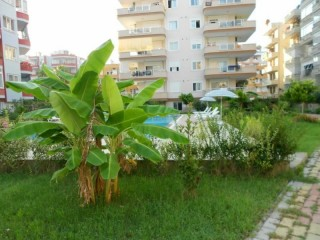 BEACH RESIDENCE 140 m2 Furnished apartment 50m from the Sea, Alanya