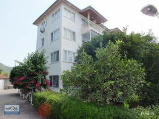 50M FROM SEA IN KEMER CENTER SITE, FURNISHED 2+1 APARTMENT FOR SALE