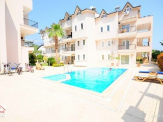 FULL FURNITURE 4 rooms in central Kemer 1 living room and kitchen for sale duplex