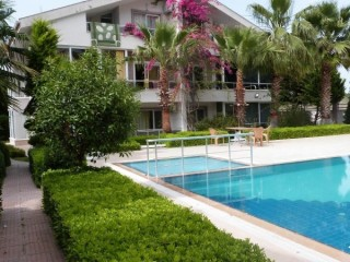 DUPLEX FOR SALE ON SITE WITH POOL AT KEMER
