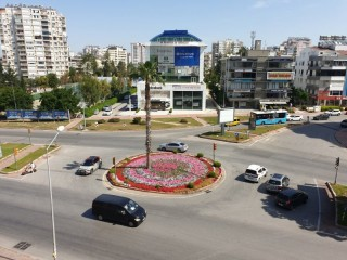 Antalya modern office with parking, for rent in Lara