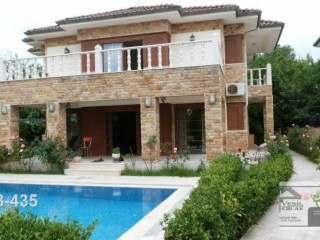 LUXURY VILLA MEGA, FURNISHED FOR SALE ON 500 MT TO THE SEA IN KEMER BEACH ANTALYA