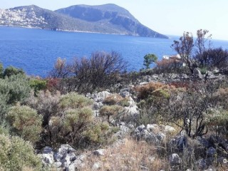 Build your DREAM HOME under the sun sea and sand 1.100 M2 villa land with sea view in KALKAN ORTYALAN