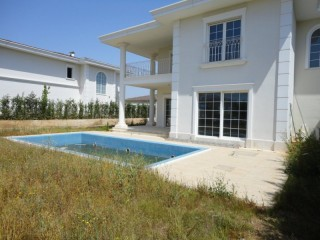 Luxury beach Mansion for sale in Kemerağzı Kundu Antalya