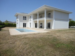 Turkish new mansion for sale in complex by beach