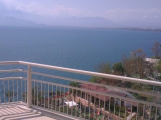 Private super luxury apartment with seaview in Antalya
