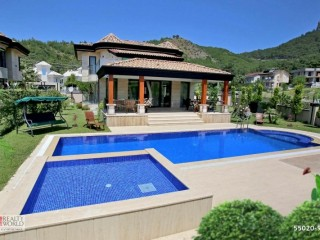 DETACHED VILLA WITH POOL NEAR SEA IN KEMER GIRDER NATURE