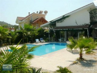 4 ROOM DETACHED ORIGINAL VILLA FOR SALE WITH NATURE VIEW IN KEMER