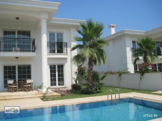 LUXURY VILLA FOR SALE WITH NATURE VIEWS IN KEMER ÇAMYUVA