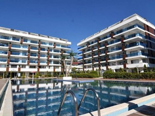 Alanya duplex apartment for sale Kestel beach
