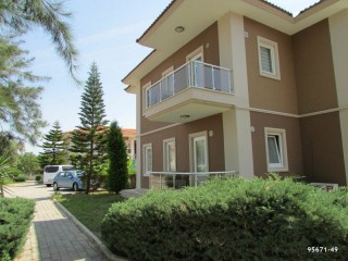Beach full furnished 2+1 apartment for sale in Kemer Çamyuva District