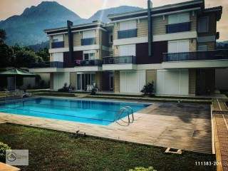 Detached Tıribleks Site With Garden Pool, Kemer, Antalya