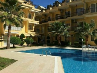 Luxury apartment for sale in Arslanbucak American Kitchen with 2 + 1 Pool, Kemer, Antalya