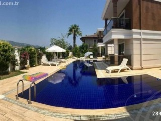 FURNISHED GARDEN FLOOR FOR SALE IN ÇAMYUVA WITH SPECTACULAR POOL VIEWS, KEMER, ANTALYA