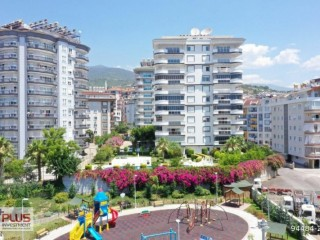 2+1 apartment for sale with full view for sale in Alanya Cikcilli