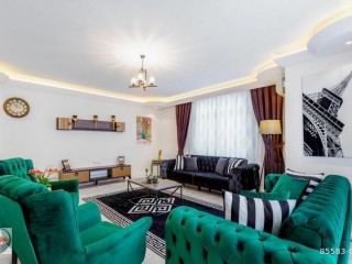 HOLIDAY FURNISHED APARTMENT FOR SALE IN ALANYA MAHMUTLAR