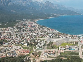 Coupon rare beach commercial land for sale in Kemer Antalya