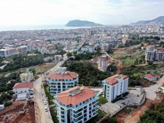New beach living areas in Alanya . Super Luxury Apartment for Holidays in Turkey