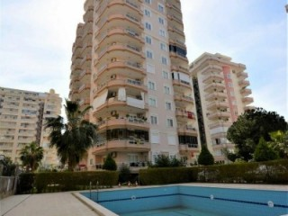 2+1 Apartment for sale with Mountain View pool in Alanya Mahmutlar