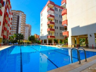 ALANYA MAHMUTLAR 1+1 APARTMENT FOR SALE WITH POOL ELEVATOR
