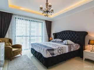 ALANYA MAHMUTLAR FURNITURE ULTRA LUXURY 3 + 1 DUPLEX RESIDENCE APARTMENT! MORE DETAILS