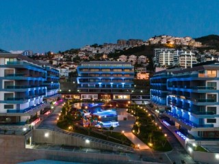 2+1 Apartments in kargicak luxury site in Alanya