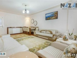 Comfortable 3 + 1 Apartment For Sale In Alanya Hacet Neighborhood