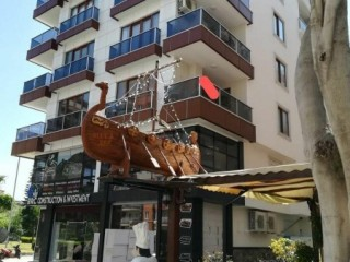 ANTALYA / ALANYA-MAHMUTLAR SEA VIEW BARBAROS CD 2+1 FOR SALE