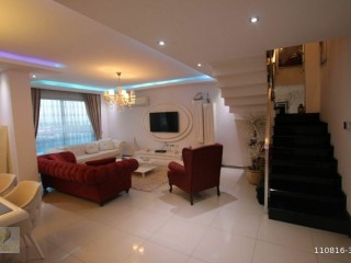 DUPLEX APARTMENT WITH 2 + 1 EXTRA SEA VIEW FOR SALE IN KESTEL, ALANYA