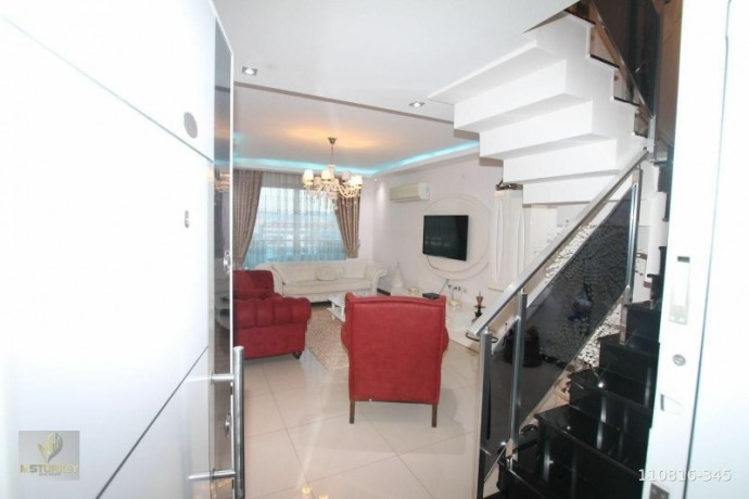 duplex-apartment-with-2-1-extra-sea-view-for-sale-in-kestel-alanya-big-2