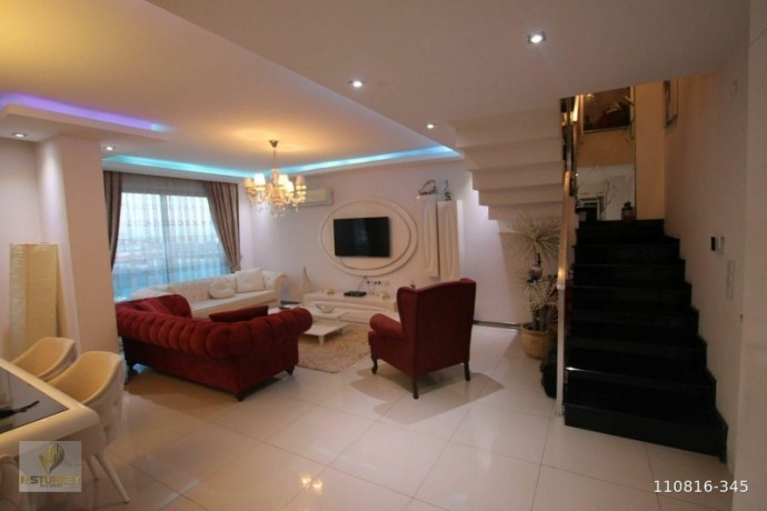 duplex-apartment-with-2-1-extra-sea-view-for-sale-in-kestel-alanya-big-0