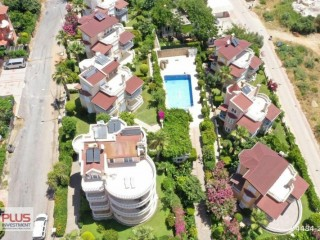 A great 3+1 furnished roof duplex in Kestel, Alanya