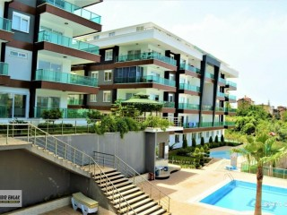 1+1 Furnished Apartment for sale in Alanya Kestel