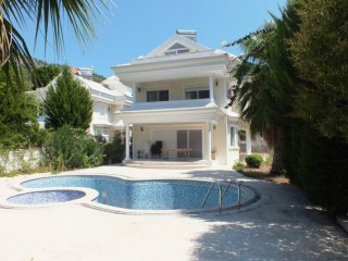 Kemer luxury triplex detached Villa for sale with private pool