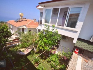 2 + 1 Twin villas for sale in Demirtaş region with full furniture, Alanya