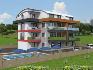 BRAND NEW 2-BEDROOM DUPLEX VILLA APARTMENT WITH A SEPARATE KITCHEN IN ALANYA