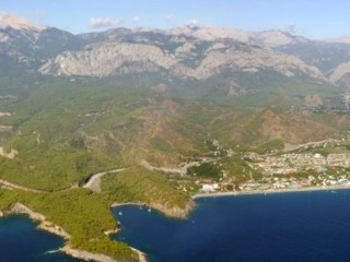 Beach Land For Sale In Kemer Ideal For Villa Construction