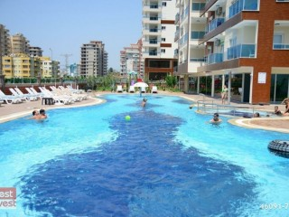 Alanya Mahmutlar luxury holiday beach complex in the furniture 1+1