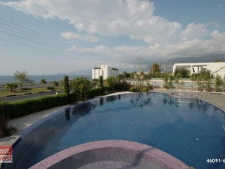 2+1 Apartment for sale with sea view in Alanya Kargicak