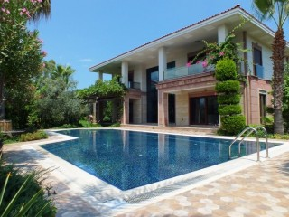 Luxury 3 storey mansion for sale in Kemer for rich & famous